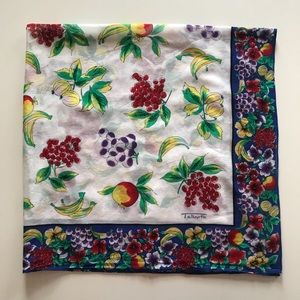 Talbots Fruit Scarf
